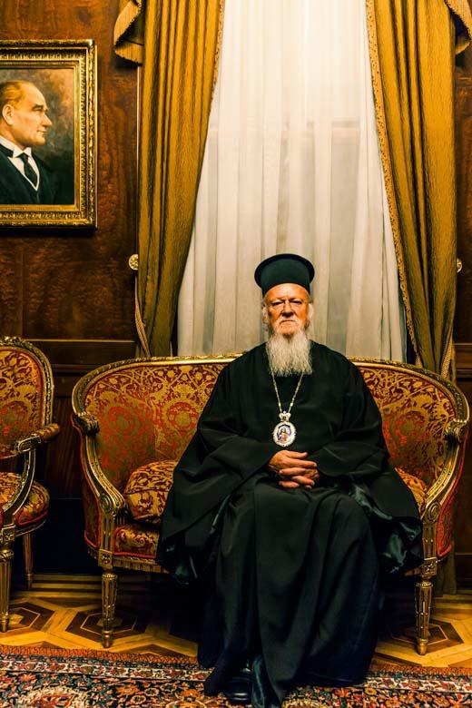 Patriarch_Bartholomeos_by_portrait_photographer_athens_greece_advertising_commercial_headshot_Dimitris_Vlaikos