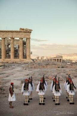 Evzones in Acropolis_Portrait_advertising_headshot_Photographer Athens-greece_vlaikos
